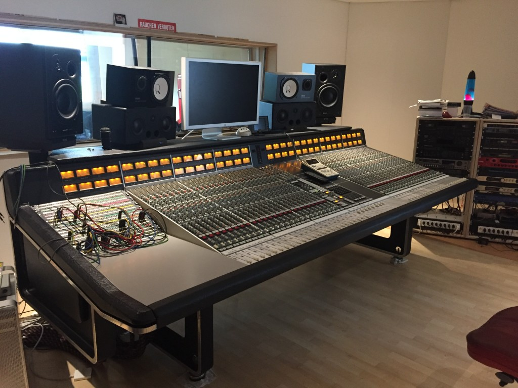 SSL4048 in it's new home