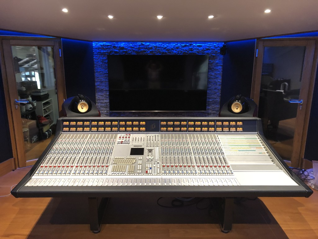 SSL 4000G+ Found a new home at Corrado Studio Italy